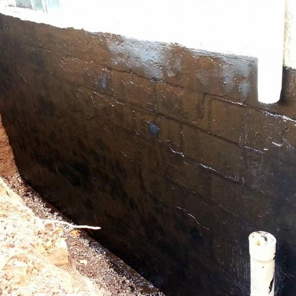 Basement Sealer Closeup